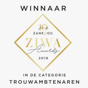 Winnaar ZiVa award 2e plaats